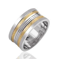 Gumush - Gümüş Altın Kaplama Alyans