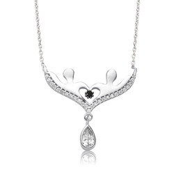 Gumush - Gümüş Aşıklar Bayan Kolye