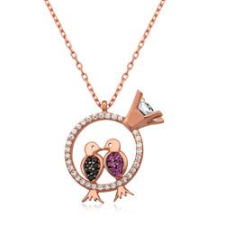 Gumush - Gümüş Aşk Kuşları Kolye