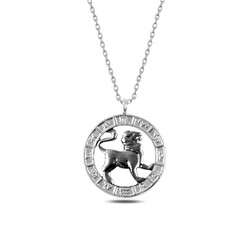 Gumush - Gümüş Aslan Burcu Kolye