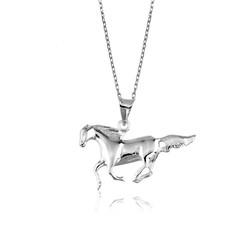 Gumush - Gümüş Koşan At Kolye