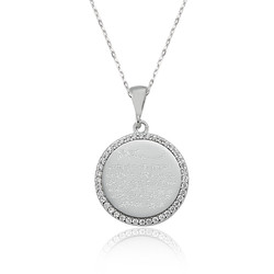 Gumush - Gümüş Ayetel Kürsi Bayan Kolye (1)