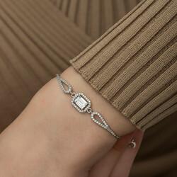 Gümüş Baget Bileklik - Thumbnail