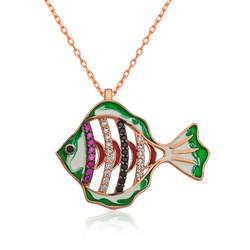 Gumush - Gümüş Balık Kolye