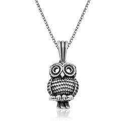 Gumush - Gümüş Baykuş Kolye