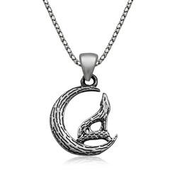 Gumush - Gümüş Bozkurt Kolye