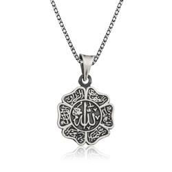 Gumush - Gümüş Allah Yazılı Erkek Kolye