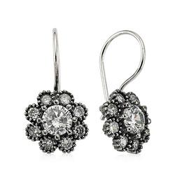 Gumush - Gümüş Çiçek Küpe