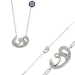Gumush - Gümüş Çift Vav Bayan Set
