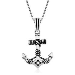 Gumush - Gümüş Denizci Çapası Kolye