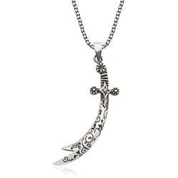 Gumush - Gümüş Desenli Zülfikar Kılıcı Kolye
