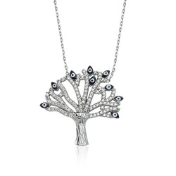 Gumush - Gümüş Dilek Ağacı Bayan Kolye