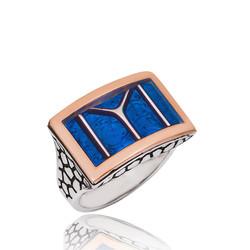 Gumush - Gümüş Diriliş Kayı Boyu Yüzüğü