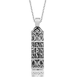Gumush - Gümüş Ebced Cevşen Dualı Bayan Kolye