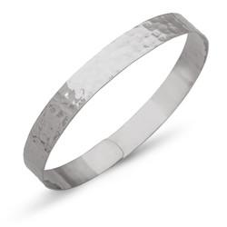 Gumush - Gümüş Elişi Dövme Bayan Bilezik