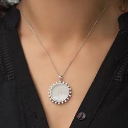Gumush - Gümüş Esmaül Hüsna Bayan Kolye (1)