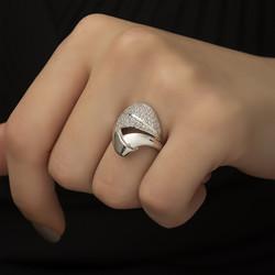 Gumush - Gümüş Fantazi Model Bayan Yüzük (1)