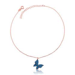 Gumush - Gümüş Mavi Kelebek Halhal