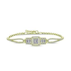 Gumush - Gümüş Gold Baget Bayan Bileklik