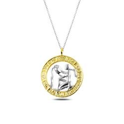 Gumush - Gümüş Gold Kova Burcu Kolye