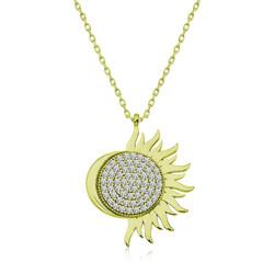 Gumush - Gümüş Gold Mihrimah Sultan Bayan Kolye