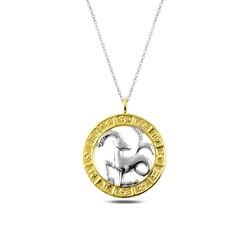 Gumush - Gümüş Gold Oğlak Burcu Kolye