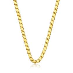Gumush - Gümüş Gold Pullu Arpa Zincir