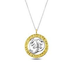 Gumush - Gümüş Gold Yengeç Burcu Kolye