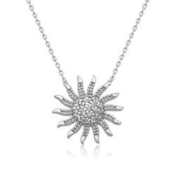 Gumush - Gümüş Güneş Bayan Kolye