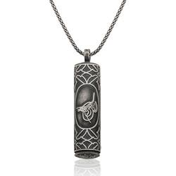 Gumush - Gümüş İçi Açılabilen Tuğralı Silindir Muskalık