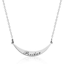 Gumush - Gümüş İsimlik Plaka Kolye