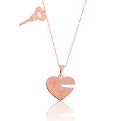 Gumush - Gümüş Kalbimin Anahtarı İsimli Bayan Kolye