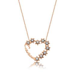 Gumush - Gümüş Kalp Canım Bayan Kolye