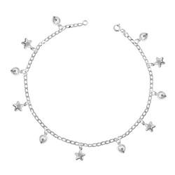 Gumush - Gümüş Kalpli Yıldız Halhal