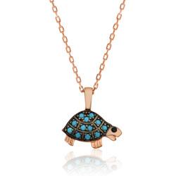 Gumush - Gümüş Kaplumbağa Bayan Kolye