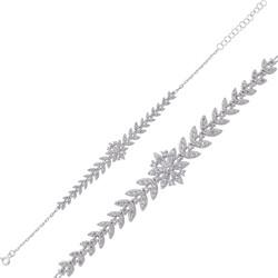 Gumush - Gümüş Kar Tanesi Bayan Bileklik