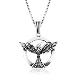Gumush - Gümüş Alaycı Kuş Kolye