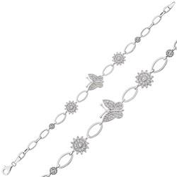 Gumush - Gümüş Kelebek Bayan Bileklik