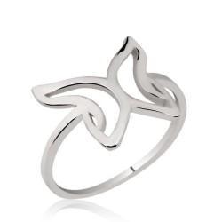 Gumush - Gümüş Kelebek Bayan Yüzük