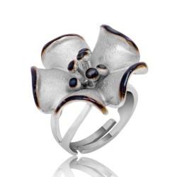 Gumush - Gümüş Çiçek Bayan Yüzük