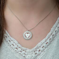 Gumush - Gümüş Kişiye Özel Sonsuz Kalp Bayan Kolye (1)