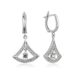 Gumush - Gümüş Klasik Bayan Küpesi