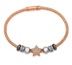 Gumush - Gümüş Yıldız Bayan Bileklik