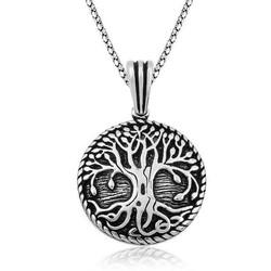 Gumush - Gümüş Köklü Yaşam Ağacı Kolye