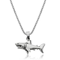 Gumush - Gümüş Köpek Balığı Kolye