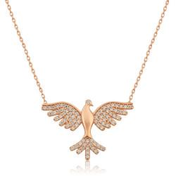 Gumush - Gümüş Kuş Bayan Kolye