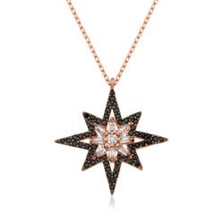 Gumush - Gümüş Kutup Yıldızı Bayan Kolye