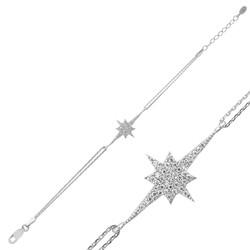 Gumush - Gümüş Kutup Yıldızı Bayan Bileklik