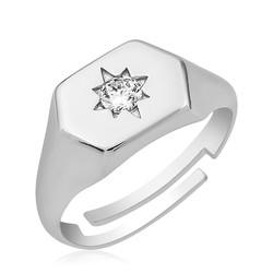 Gumush - Gümüş Kuzey Yıldızı Serçe Yüzük