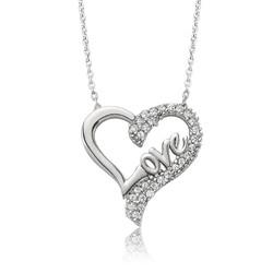 Gumush - Gümüş Love Kalp Bayan Kolye